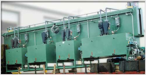 5-Stage Overhead Monorail Washer
